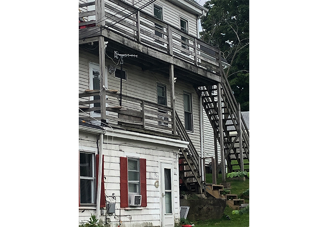 205 Bussey Street, Porch, Susan Perry