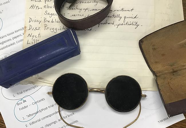 Evidence, Tony's Sunglasses