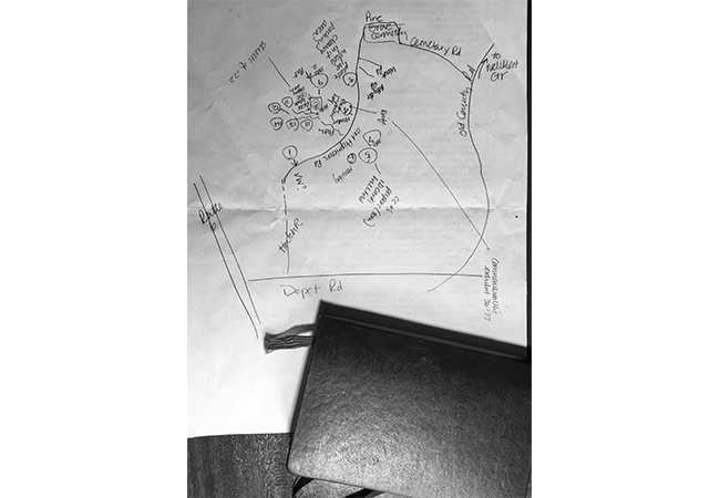 Map and Black Journal